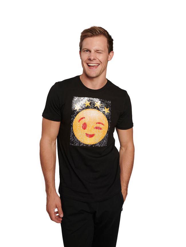 E85326 Pullu Şekil Değiştiren Ağlama T-shirt