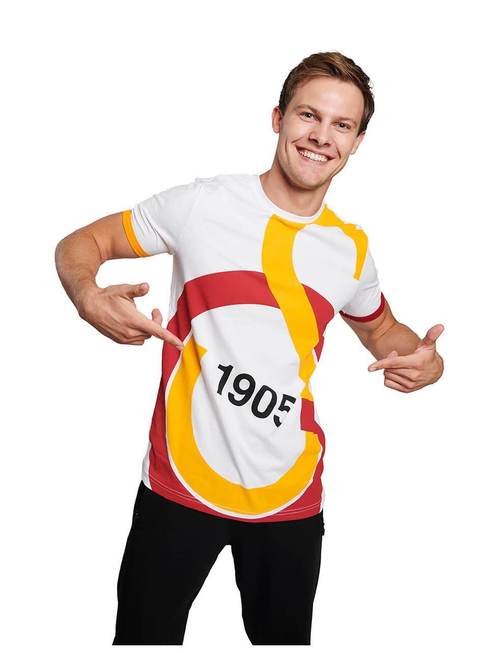 Galatasaray Erkek Gs Büyük Logolu T-Shirt E88138