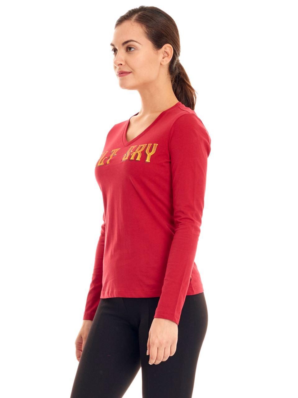 K95135 V Yaka T-shirt