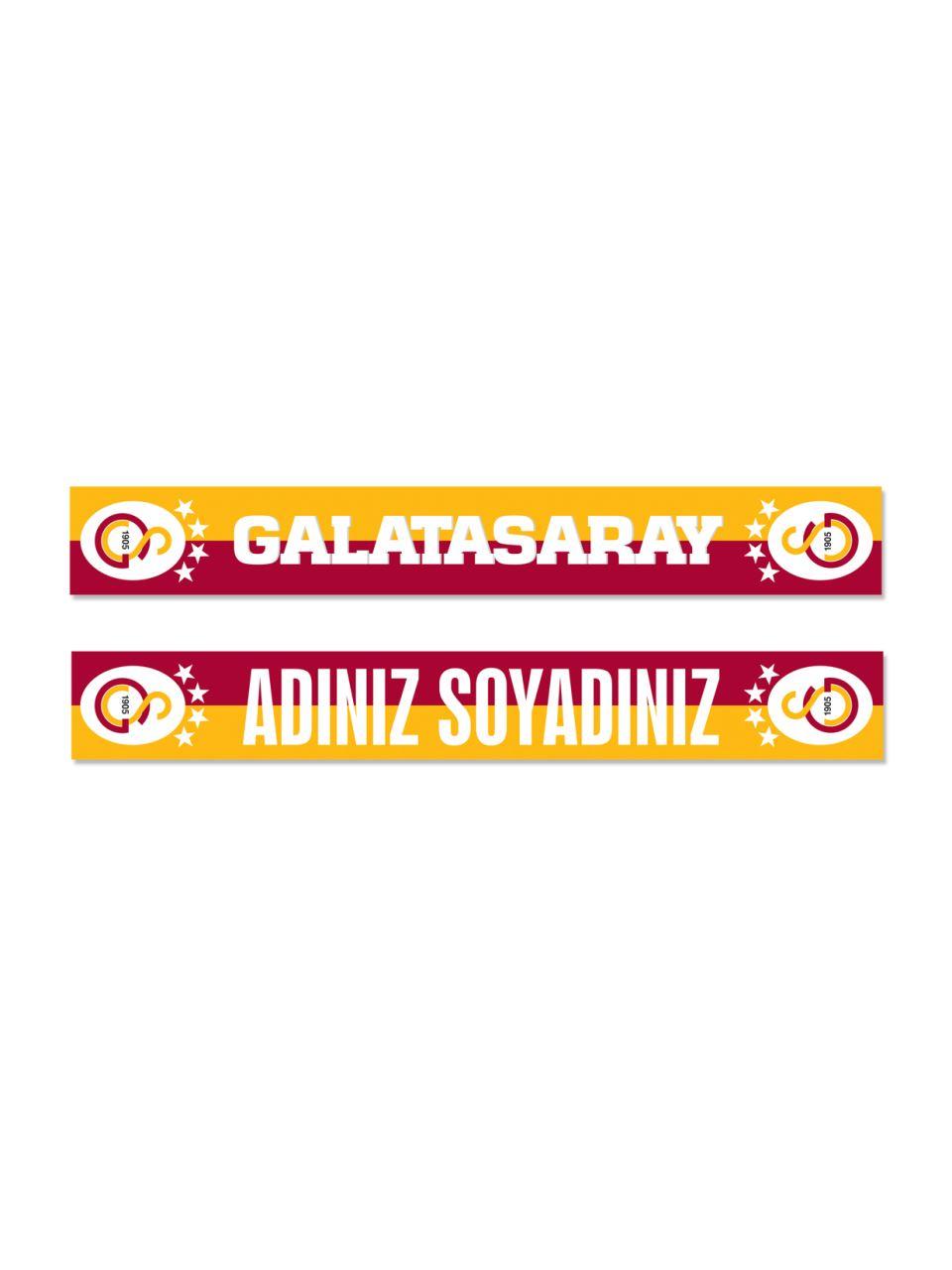 U88037 Kişiye Özel Galatasaray Şal Atkı