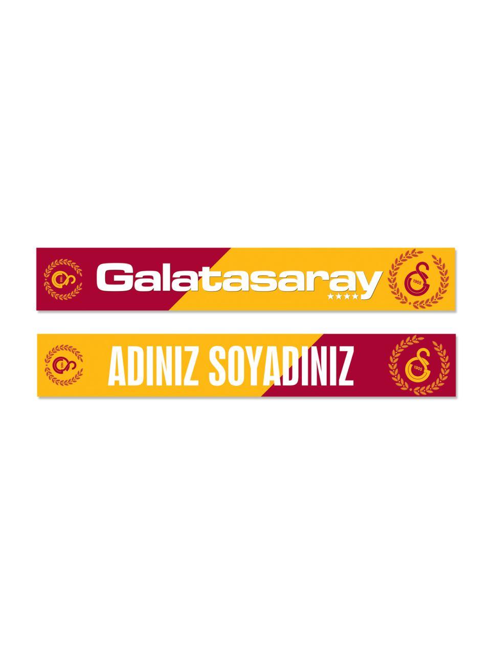 U88039 Kişiye Özel Galatasaray Şal Atkı
