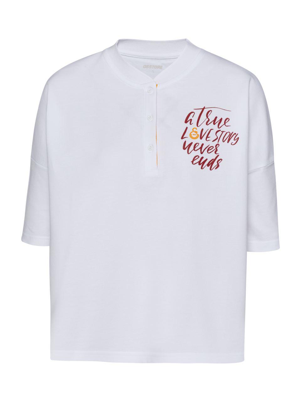 Galatasaray Polo Yaka Kadın T-shirt K191129