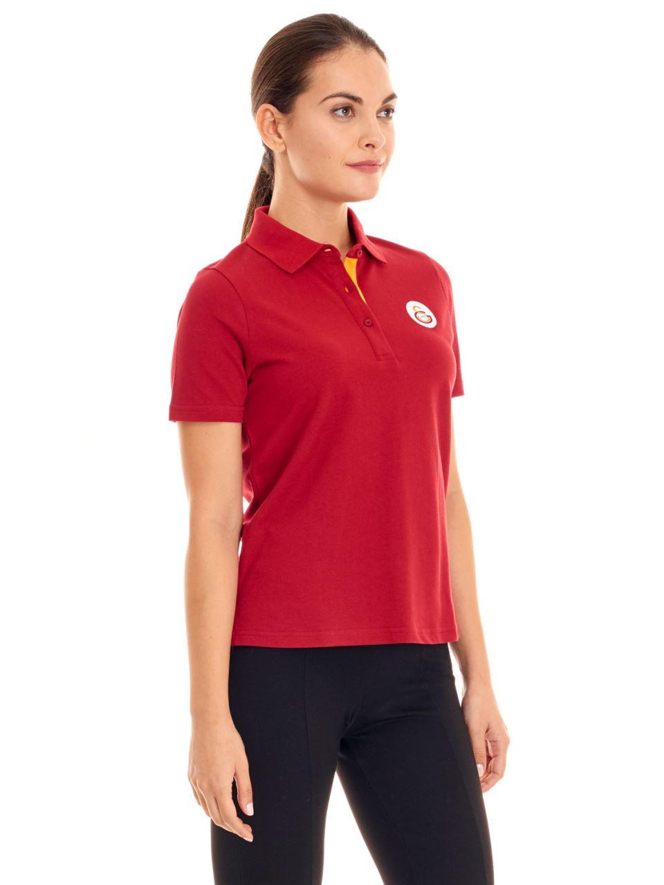 Galatasaray Polo Yaka Kadın T-shirt K191130