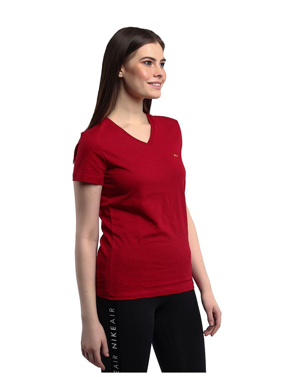 Galatasaray V Yaka Kadın T-shirt K191201