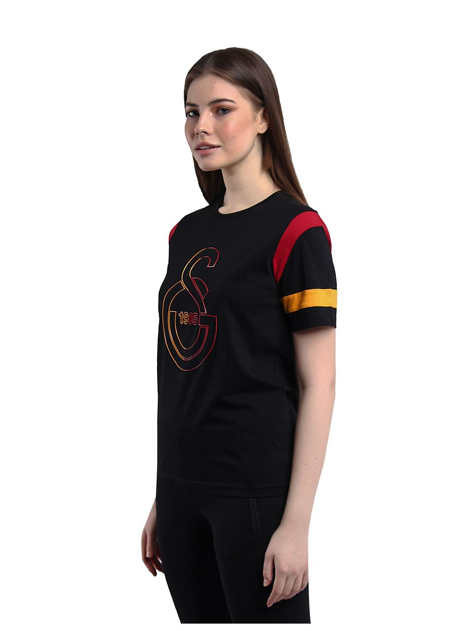 Galatasaray Kadın Çizgi Logo T-shirt K201126