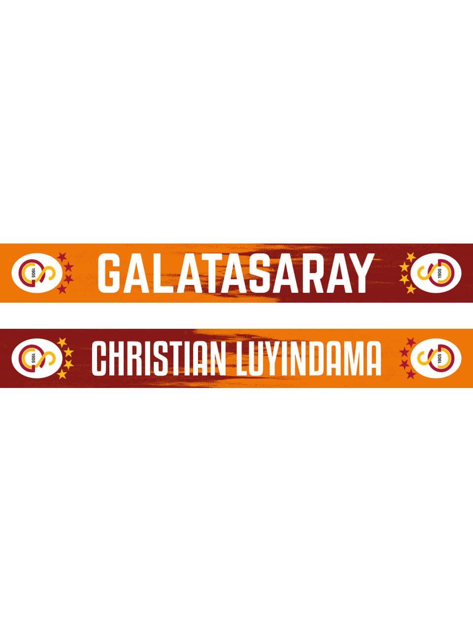CHRISTIAN LUYINDAMA GALATASARAY ŞAL ATKI U999012