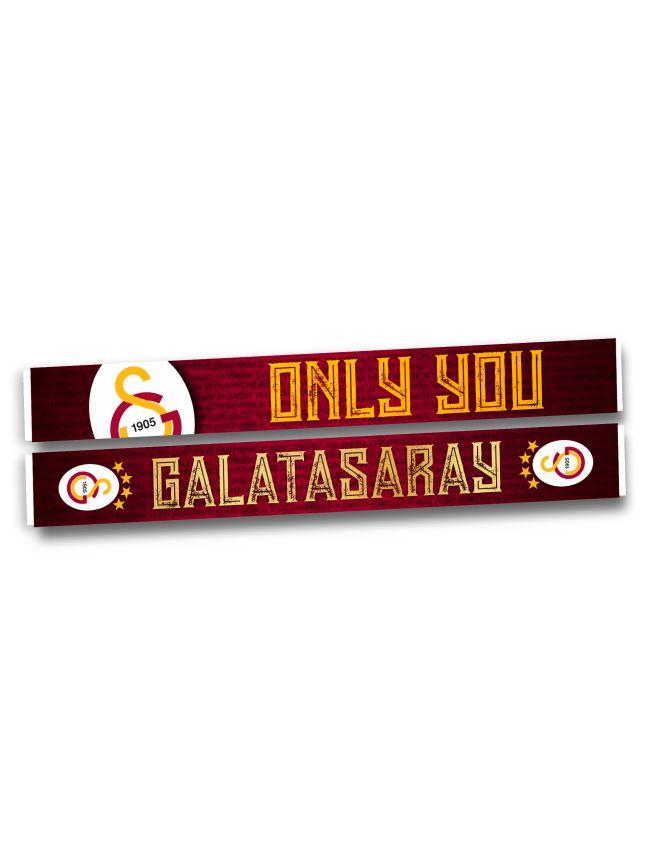 U191215 ONLY YOU GALATASARAY ŞAL ATKI