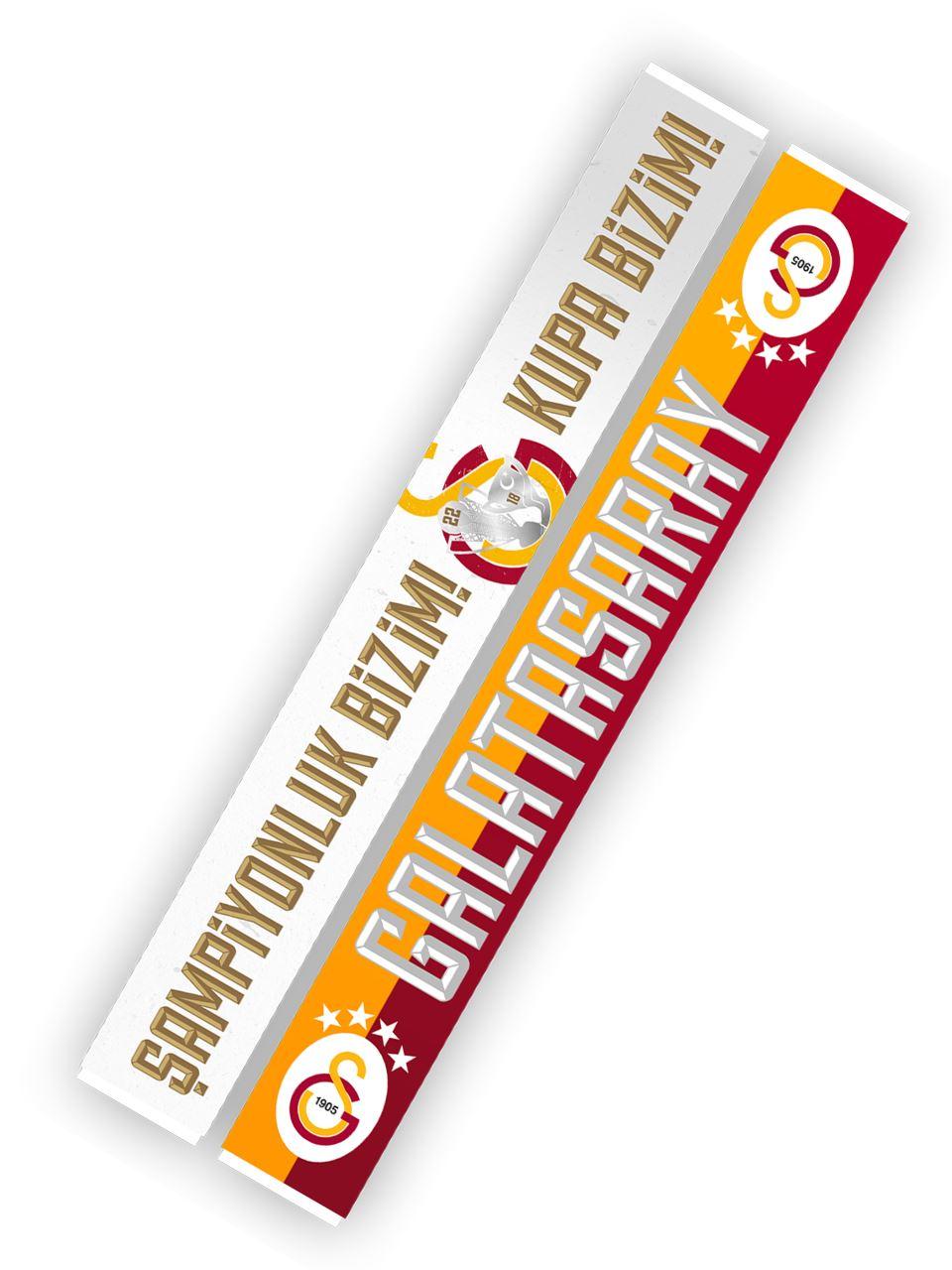 Galatasaray Şampiyonluk Bizim! Kupa Bizim! Şal Atkı U191276