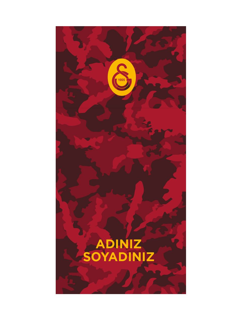 Galatasaray Kişiye Özel Buff U212267