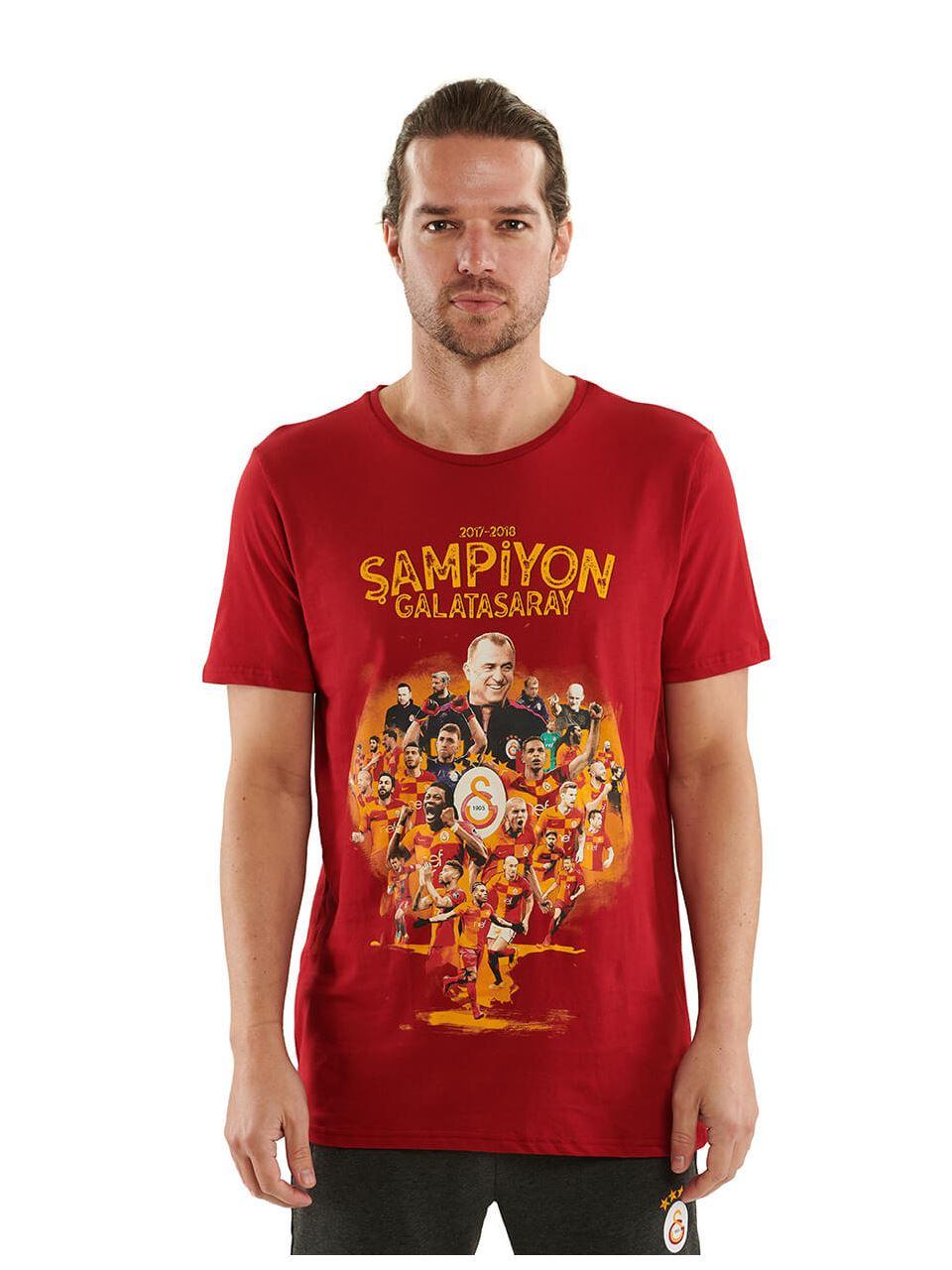 E90199 Şampyonluk Kolajı T-shirt