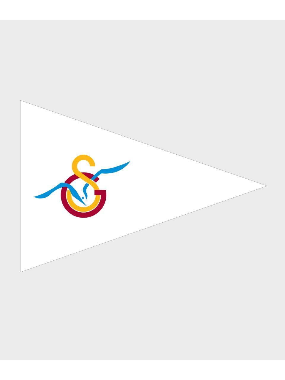 U70279 70*105 GS Martı Üçgen Tekne Bayrağı