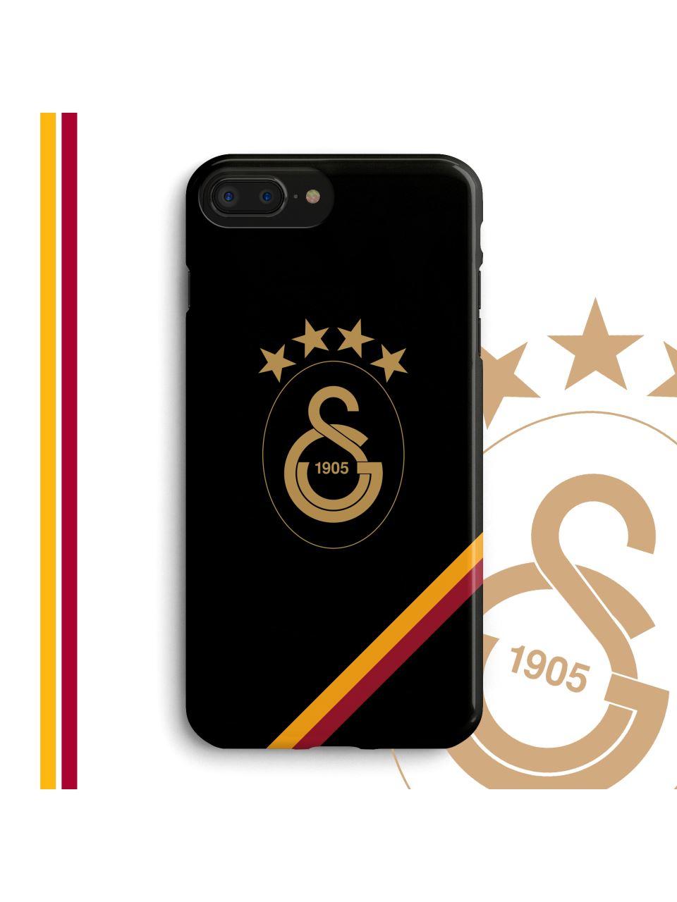 U90228 Altın Logo Telefon Kapak