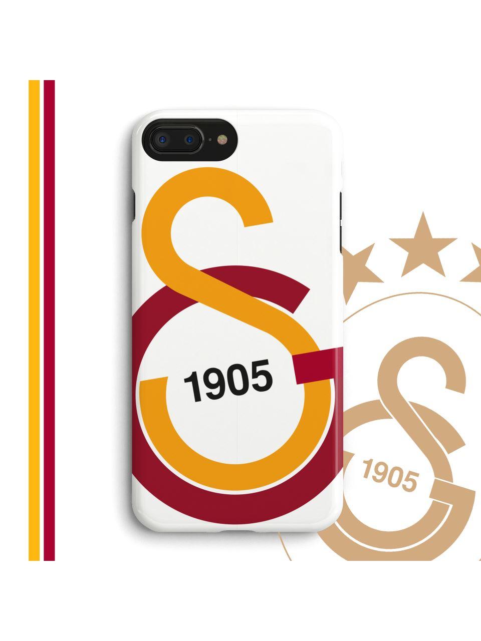 U90231 GS Büyük Logo Beyaz Telefon Kapak
