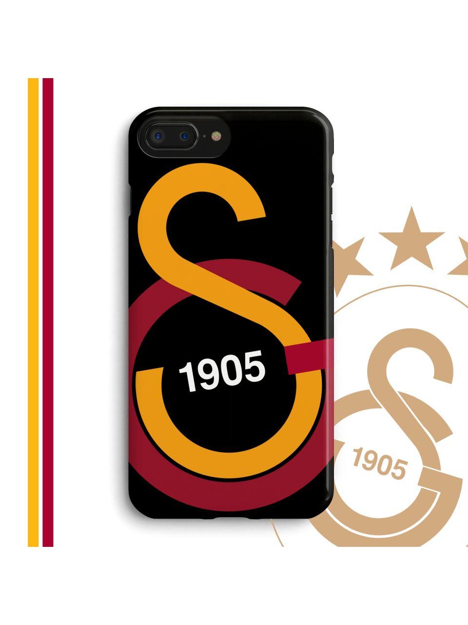 U90232 GS Büyük Logo Siyah Telefon Kapak