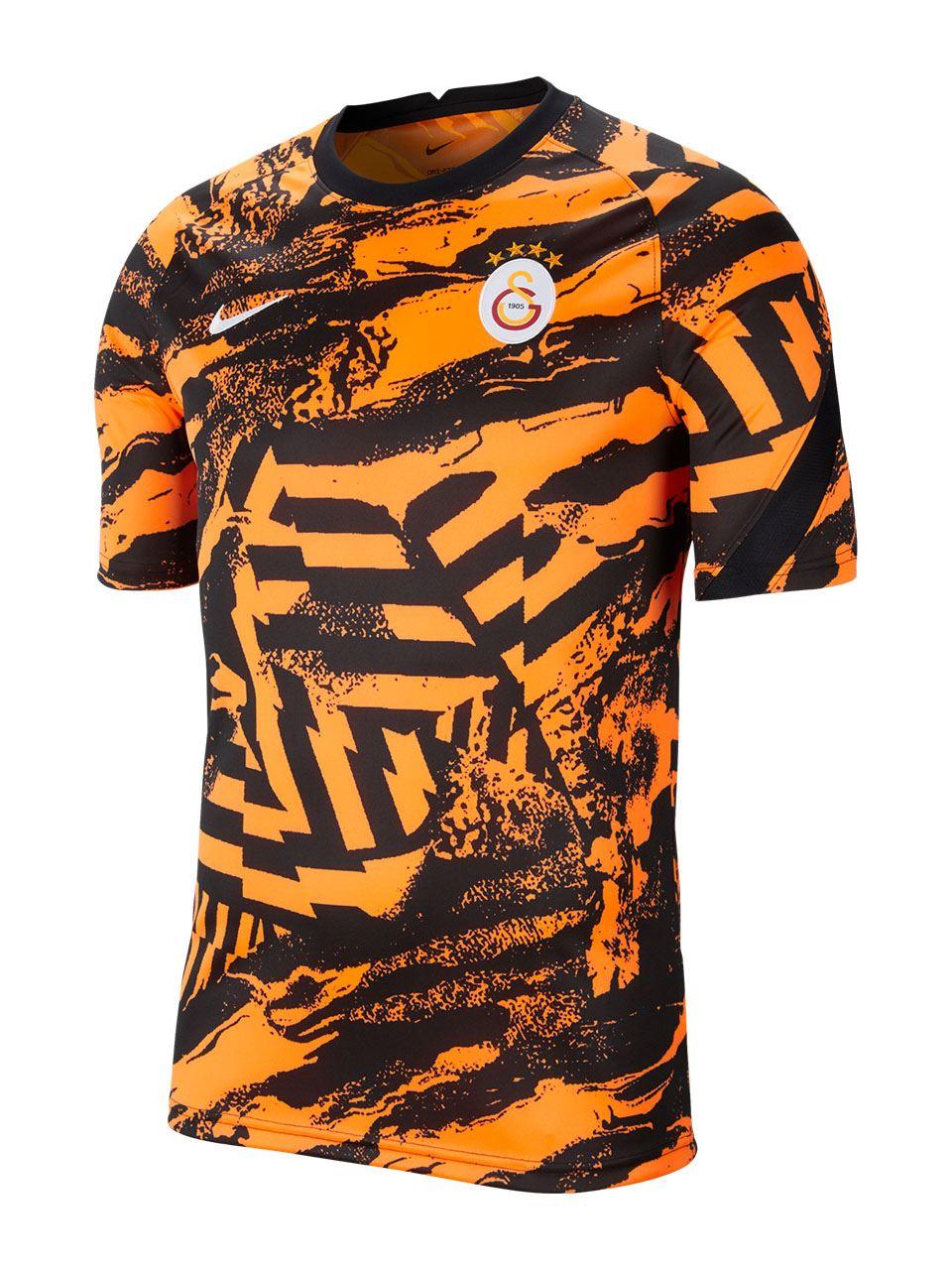 Nike Galatasaray Erkek Antrenman Kısa Kollu T-shirt CW4877-804