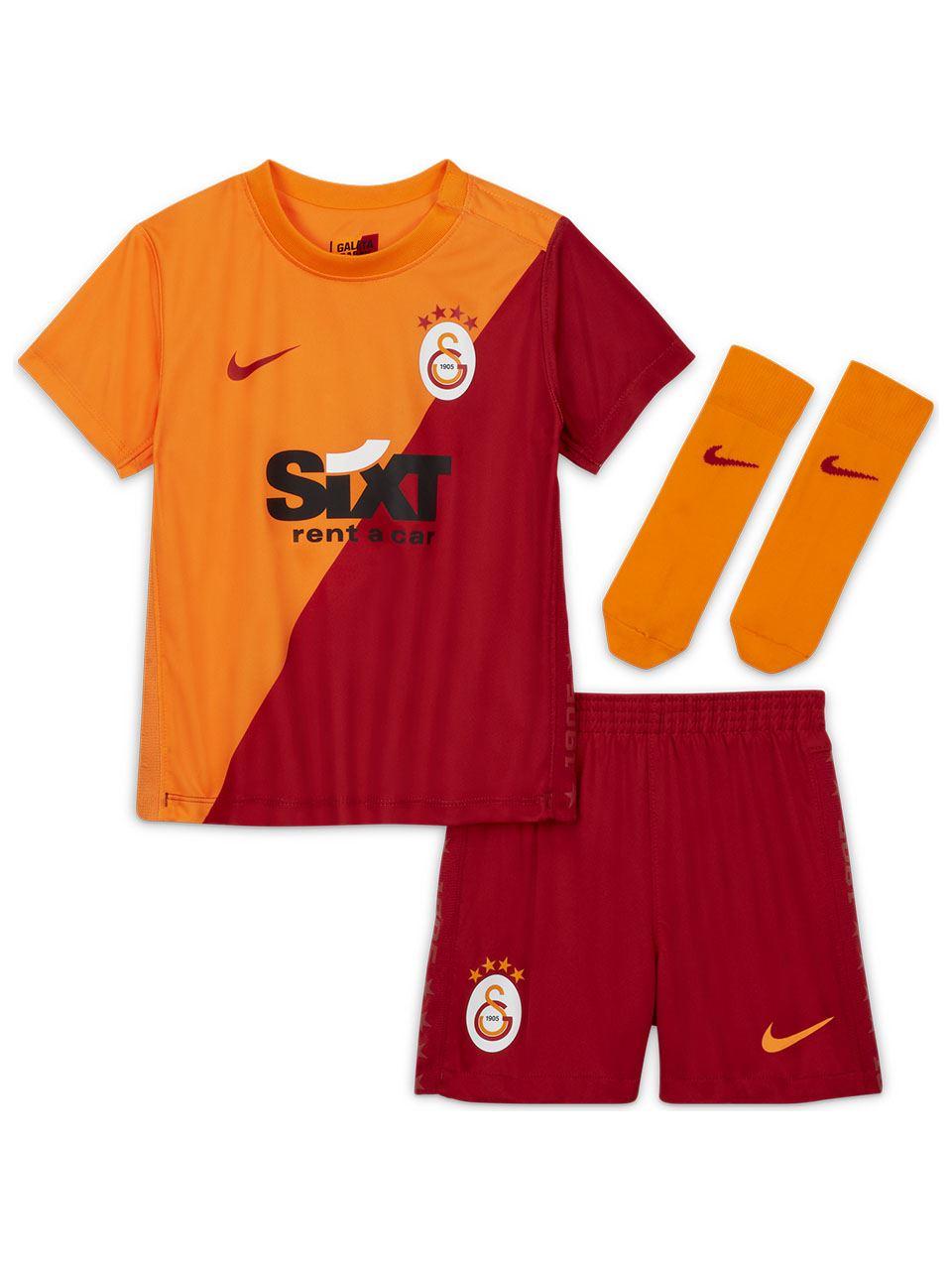 Nike Galatasaray 2021/2022 Bebek Parçalı İç Saha Forma Set CV8298-836
