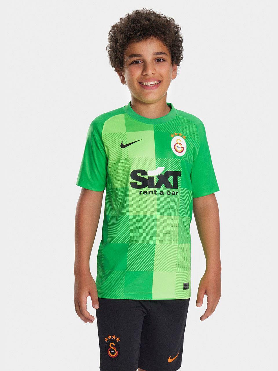 Nike Galatasaray 2021/2022 Genç Çocuk Kaleci Forma DH2297-330