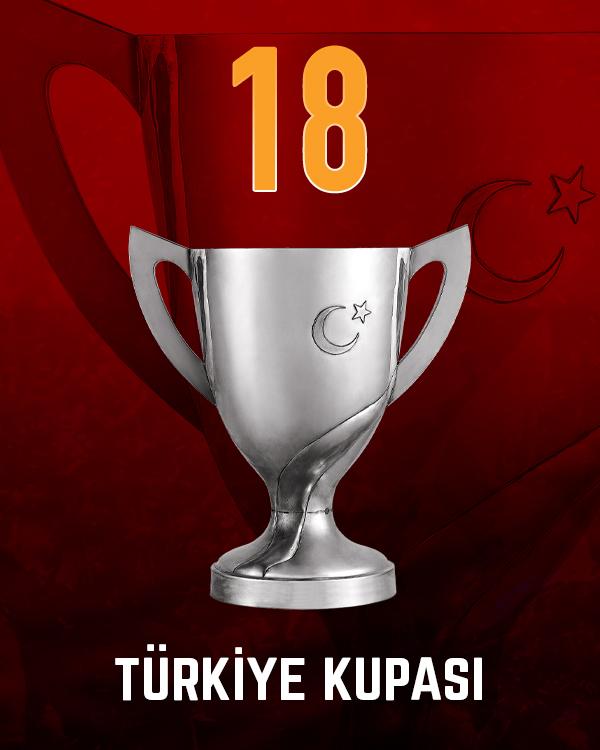 Galatasaray Türkiye Kupası Şampiyonluk Sayısı